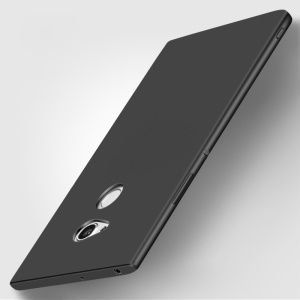 X-LEVEL Ultra-thin Frosted Silicone Phone Case for Sony Xperia XA2 Ultra - Black