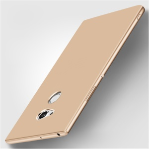 X-LEVEL Ultra-thin Frosted Silicone Back Case Cover for Sony Xperia XA2 Ultra - Gold
