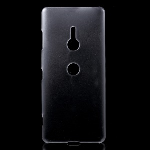 Rubberized Hard Shell Case for Sony Xperia XZ3 - Transparent