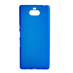 Double-sided Matte TPU Cell Phone Case for Sony Xperia XA3 Ultra - Blue