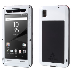 LOVE MEI Dropproof Shockproof Dustproof Case for Sony Xperia Z5 Premium / Premium dual - White
