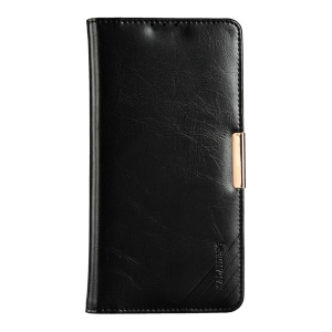 KLD Royal II Series Genuine Leather Case for Sony Xperia Z5 Premium / Premium dual - Black