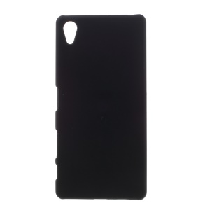 Rubberized Hard PC Case for Sony Xperia X - Black
