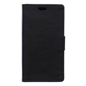 Litchi Texture Wallet Leather Case for Sony Xperia X Performance - Black