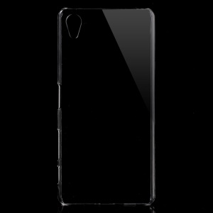 Crystal Clear Hard Back Case for Sony Xperia X - Transparent