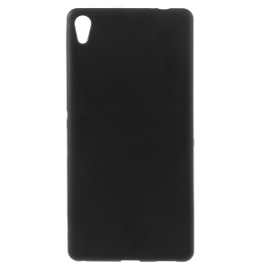 Double-sided Matte TPU Case for Sony Xperia XA Ultra - Black