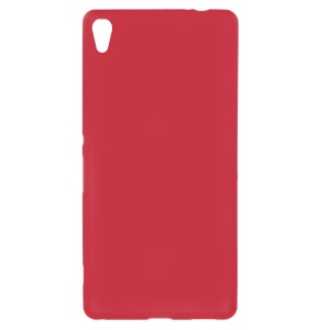 Double-sided Matte TPU Shell Case for Sony Xperia XA Ultra - Red