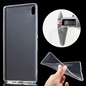 0.5mm Ultra-thin TPU Case for Sony Xperia XA Ultra - Transparent