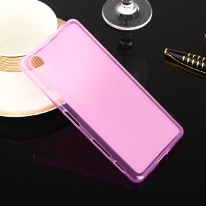 Double-sided Frosted TPU Gel Case for Sony Xperia X Performance - Rose