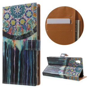 Wallet Leather Stand Cover for Sony Xperia X Performance - Dream Catcher