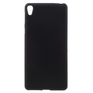 Frosted TPU Case for Sony Xperia E5 - Black