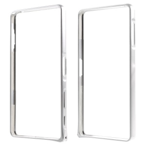 Hippocampal Buckle Aluminum Alloy Metal Bumper for Sony Xperia X Performance - Silver
