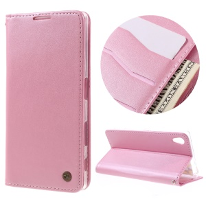 ROAR KOREA Only One Flip Case PU Leather Cover for Sony Xperia Z5 / Z5 Dual - Pink