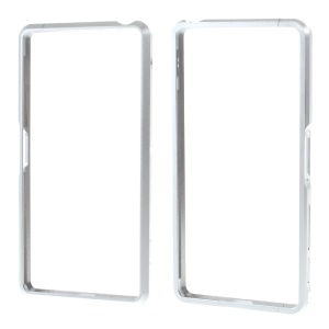 Aluminum Alloy Metal Bumper Case for Sony Xperia X Performance - Silver