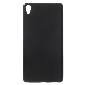 Double-sided Matte TPU Shell Case for Sony Xperia XA Ultra - Black