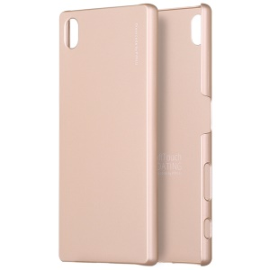 X-LEVEL Metallic Plastic Cover for Sony Xperia Z5 / Z5 Dual - Gold