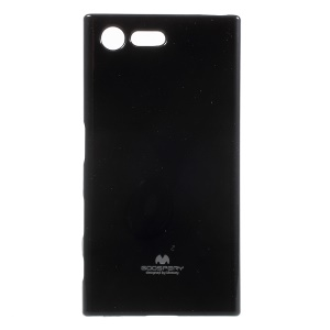 MERCURY GOOSPERY Glitter Powder TPU Case Cover for Sony Xperia X Compact - Black