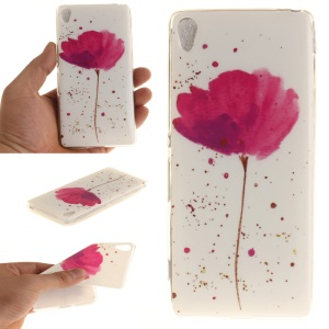 IMD Soft TPU Back Case for Sony Xperia XA/XA Dual - Fresh Flower