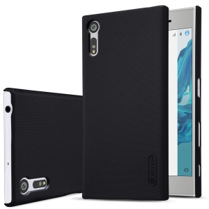 NILLKIN for Sony Xperia XZ Super Frosted Shield Hard Case + Screen Protector - Black