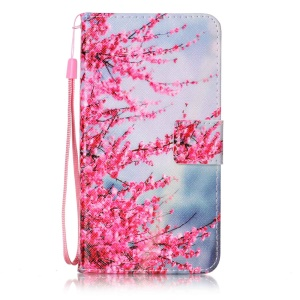 Wallet Leather Case with Stand for Sony Xperia XZ - Vivid Flowers