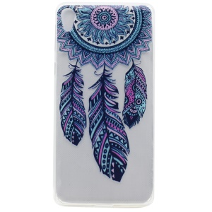 Pattern Printing TPU Shell Cover for Sony Xperia XA Ultra - Dream Catcher