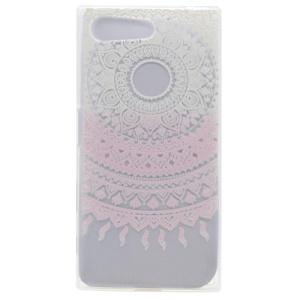 Pattern Printing TPU Gel Case for Sony Xperia X Compact - Mandala Pattern