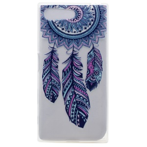 Pattern Printing TPU Cover Shell for Sony Xperia X Compact - Dream Catcher