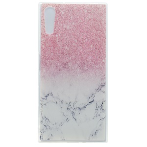 Pattern Printing TPU Case for Sony Xperia XZ - Colorized Pattern