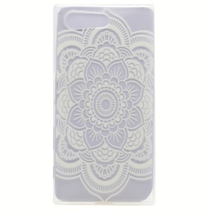 Pattern Printing TPU Shell Cover Case for Sony Xperia X Compact - Mandala Flower