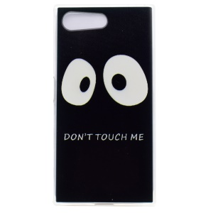 Pattern Printing TPU Case Accessory for Sony Xperia X Compact - Do not Touch Me