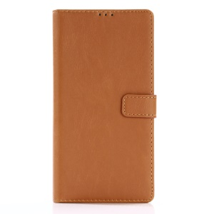 Crazy Horse Retro Style Wallet Leather Stand Mobile Shell for Sony Xperia XA1 Ultra - Brown