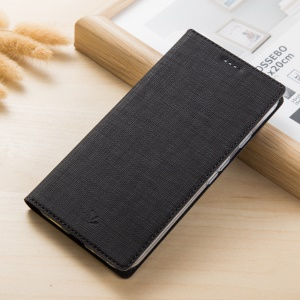 VILI DMX Style Magnetic Leather Flip Case Cover for Sony Xperia XZ Premium - Black