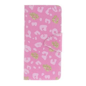 Pattern Printing Cross Texture Magnetic Leather Stand Case for Sony Xperia E5 - Colorized Pattern