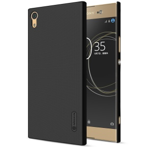 NILLKIN Super Frosted Shield Hard Plastic Cover for Sony Xperia XA1 Ultra - Black