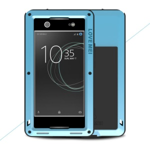 LOVE MEI Powerful Dropproof Shockproof Dirtproof Protector Mobile Casing for Sony Xperia XA1 - Blue