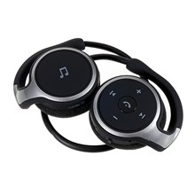 A6 Sports Bluetooth 4.0 Neckband Stereo Earphone w/ Mic - Black