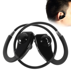 SX-985 Sports Bluetooth Wireless Neckband Earphone w/ Mic - Black