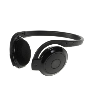 BH-503 Bluetooth Sports Neckband Headphone Headset w/ Mic for iPhone Samsung LG Sony - Black