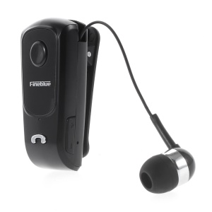 FINEBLUE F920 Stretch Wireless Stereo Bluetooth Handsfree Headset Earphone - Black