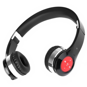 Foldable Bluetooth 3.0 Over-ear Stereo Headphone for iPhone iPad Samsung Sony etc - Black