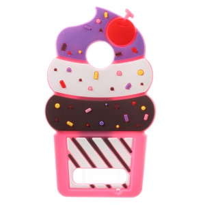 3D Cherry Ice Cream Silicone Protection Mobile Phone Case for LG Z2 Play - Rose