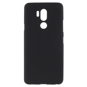 Double-Sided Matte TPU Back Case for LG G7 ThinQ - Black