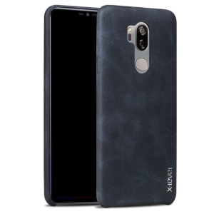 X-LEVEL Vintage Series PU Leather + PC Phone Shell for LG G7 ThinQ - Black