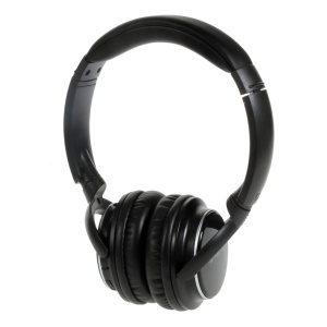 NIA Q1 Over-ear Bluetooth Headphone with Mic Support Micro SD Player / FM Radio / Aux-input - Black