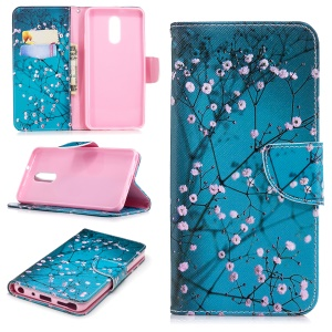 Wintersweet - For LG Stylo 4/Q Stylus Pattern Printing PU Leather Wallet Stand Phone Case