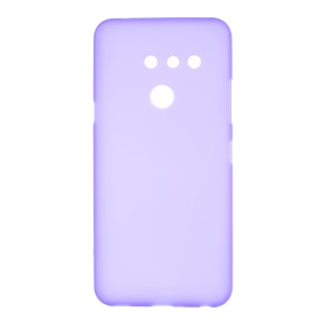 Double-sided Matte TPU Back Case for LG G8 ThinQ - Purple