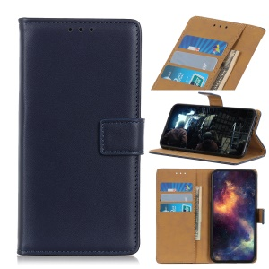 Wallet Leather Stand Case for LG G8s ThinQ - Blue