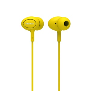 REMAX RM-515 Candy Series 3.5mm In-ear Earphone with Mic for iPhone Samsung LG - Yellow