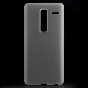 Double-sided Frosted TPU Phone Case for LG Zero / Class F620 H740 - White