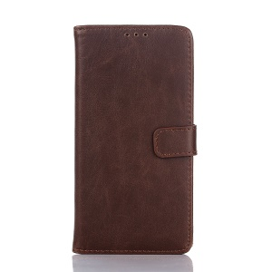 Crazy Horse Retro Wallet Stand Leather Phone Case for LG Nexus 5X - Coffee
